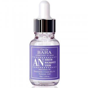 Сыворотка против пигментации с арбутином и ниацинамидом Cos de Baha Arbutin 5%+Niacinamide 5% Serum 30 ml